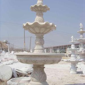 石雕花盆、喷泉2